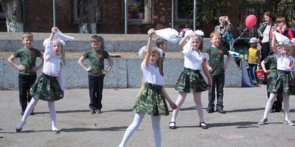 Флеш-моб Песни и танцы о войне Катюша
